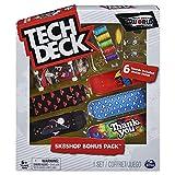 Bizak-61929495 Tech Deck Shop con 6 Skates, modelos surtido (61929495)