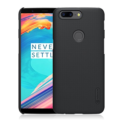 AVIDET Oneplus 5T Case, Shock-Absorption and Anti-Scratch Hard Back Case Cover for Oneplus 5T (Black)