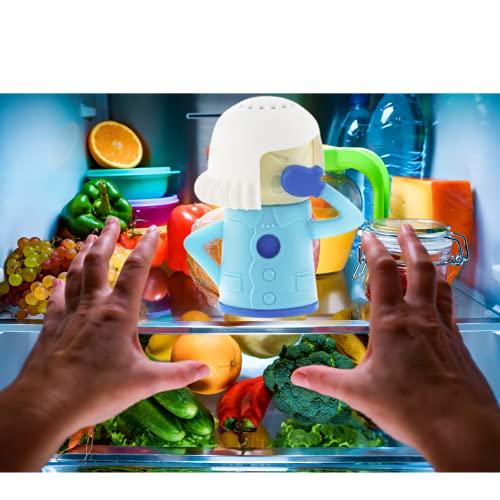 Bahama Ambientador y Desodorante Nevera y Lavavajillas como Accesorio Cocina Orignal. Absorve Olores Nevera, Ambientador Frigorifico con Bicarbonato