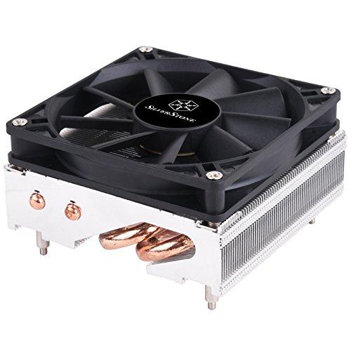 Silverstone SST-AR11 - Argon CPU Kühler 4 Direktkontakt Heatpipes, 92mm PWM, Intel