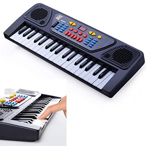 Buy Discount Fantastick 37 key Children's Musical Keyboard Toy Multifunctional Teaching Microphone E...