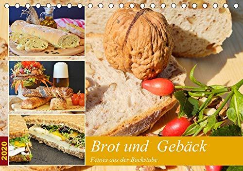 Brot und Gebäck. Feines aus der Backstube (Tischkalender 2020 DIN A5 quer): Ofenfrische Backwaren schmecken immer! (Monatskalender, 14 Seiten ) (CALVENDO Lifestyle)
