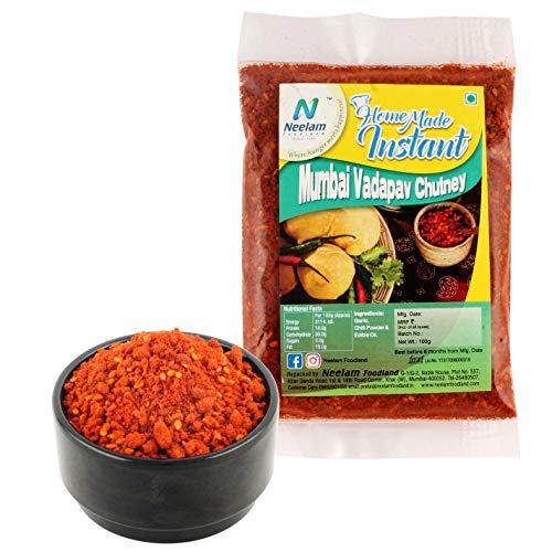 Neelam Foodland Special Home Made Mumbai Vada Pav Chutney 200 gm (7.05 OZ)