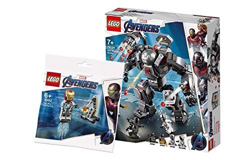 Collectix Lego Marvel Avengers - Set: 76124 War Machine Buster + 30452 Iron Man und Dum-E