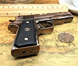 FengFang Windproof Lighter Metal Revolver Inflatable Reuse Cigarette Lighter Double fire lighters