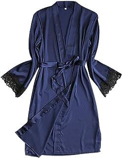 83f462bb1ca Jiayit Women Lingerie Sexy Satin Silk Sleepwear Pajamas Nightdress for Women  for Sex