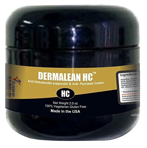 Dermalean HC-Hidradenitis Suppurativa (HS),Inflammation, Apocrine Gland Cream (2oz)