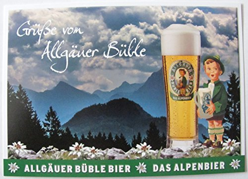 Allgäuer Brauhaus - Büble Bier - Grüße von Allgäuer Büble - Postkarte - Motiv 13