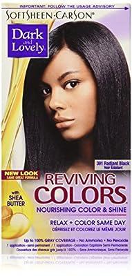 Softsheen-Carson Dark and Lovely Reviving Colors Nourishing Color & Shine, Radiant Black 391
