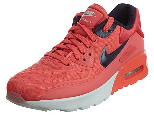 Nike AIR MAX 90 ULTRA SE (GS) girls fashion-sneakers 844600-800_6.5Y - Ember Glow/Purple Dynasty-pure Platinum