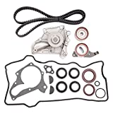 ECCPP Timing Belt Water Pump Kit Fit for 1987-2001 Toyota Camry Celica RAV4 Solara 2.0L 2.2L DOHC 3SFE 5SFE