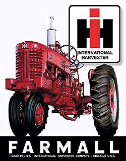 Desperate Enterprises Farmall 400 Tin Sign, 12.5
