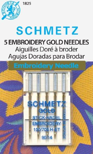 Schmetz Gold Embroidery Machine Needles