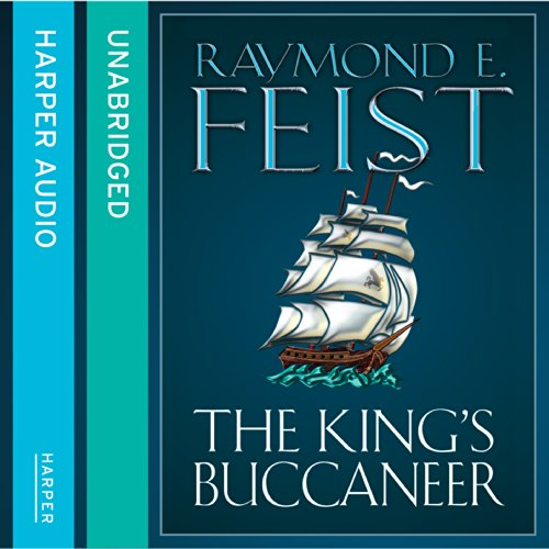 The King's Buccaneer audiobook cover art