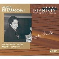 Alicia de Larrocha 2 - Great Pianists of the Century by Alicia De Larrocha (1999-10-12)