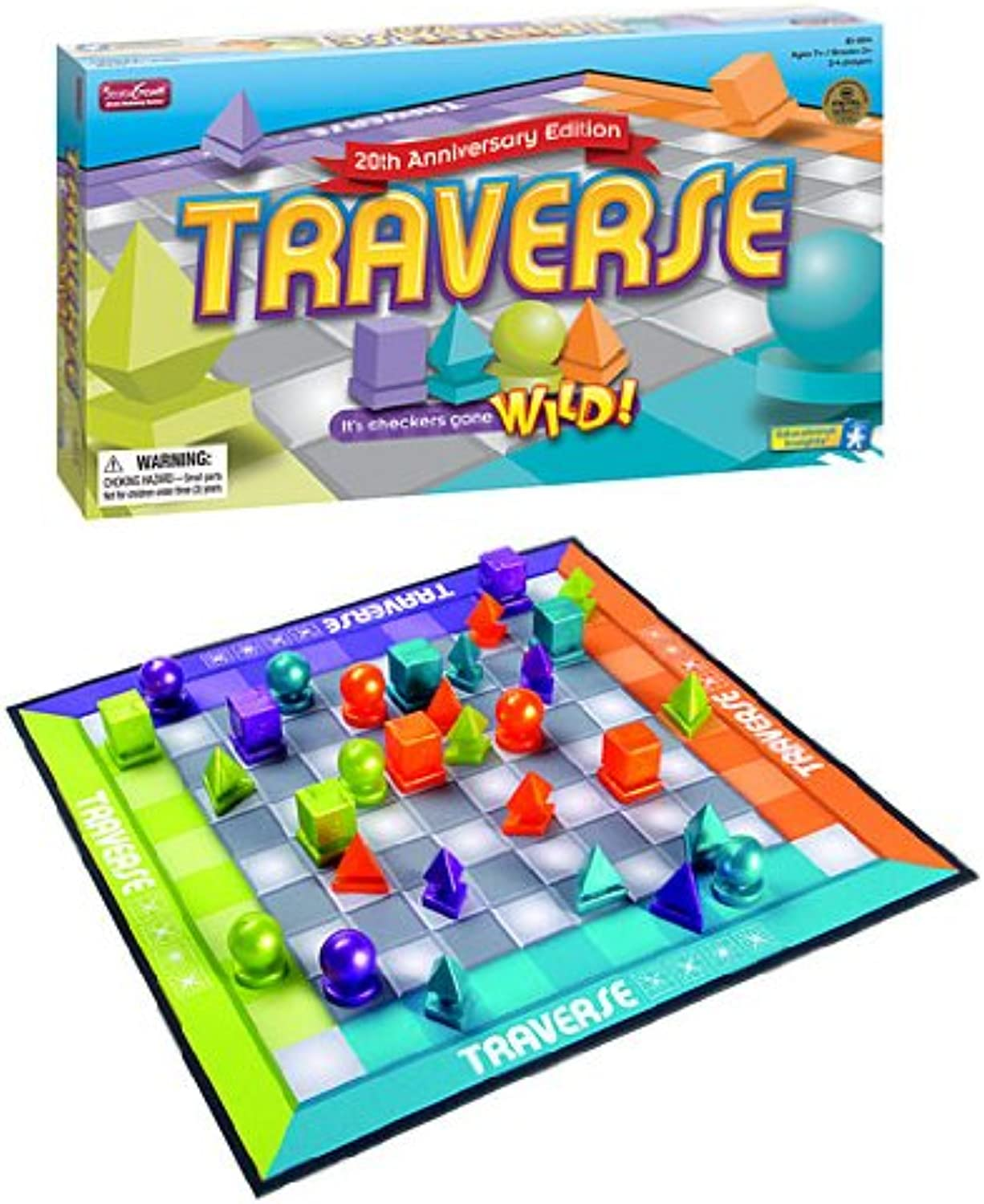 Educational Insights Traverse Strategy Game (20th Anniversary Edition)