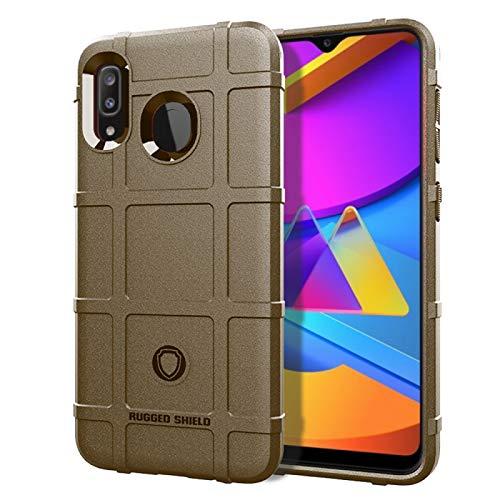 GGQQ YDYX AYD para Huawei Disfruta de 10 Plus Cobertura Completa TPU a Prueba de choques (Color : Brown)