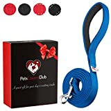Dutchy Brand Pets Lovers Club Blue Dog Leashes for Large and Medium...