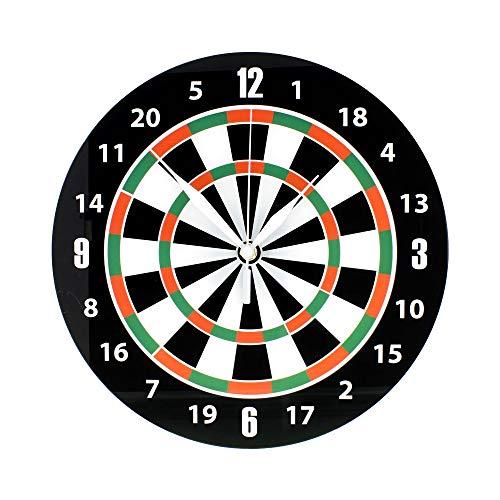 Preis am Stiel Wanduhr ''Dart'' | Modern | Geschenk für Freund | Klein | Design | Uhren | Wanddekoration Wohnzimmer | Uhr Herren | für Wohnzimmer | Männer Uhren | Dekoration | Schmücken | Küchenuhr