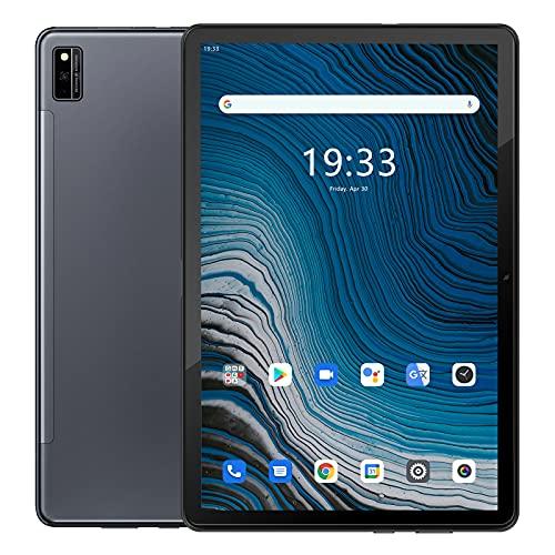Tablet 10 Pollici,Blackview Tab10 Android 11 Octa-core Processor 4G LTE WiFi,4GB RAM + 64GB ROM (Scalabile Fino a 128G), Batteria da 7480 mAh, Tablet Android con Fotocamera 13MP + 8MP, Dual SIM