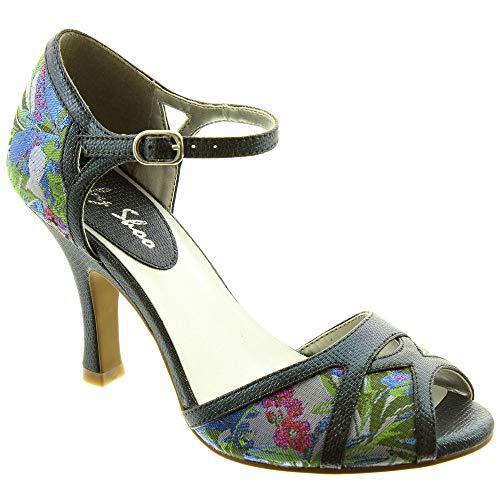 Ruby Shoo Eliza Womens Sandals Blue