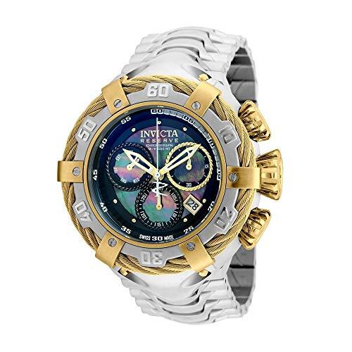 Relógio Invicta Bolt 21355 Thunderbolt Prata/Dourado