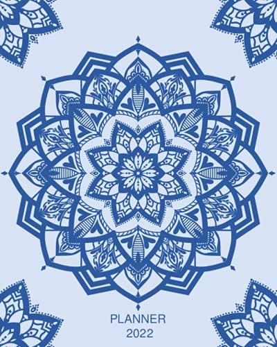 Planner 2022: Blue Mandala Weekly And...