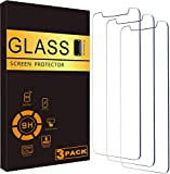 VectorTech For iPhone 12 / iPhone 12 Pro Tempered Glass Screen Protector Film Cover, Anti-Scratch, Anti-Fingerprint, Bubble Free, Clear, In Retail Box [fits iPhone 12 / iPhone 12 Pro] 3-Pack