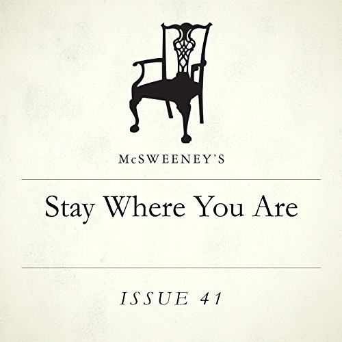 Stay Where You Are audiobook cover art