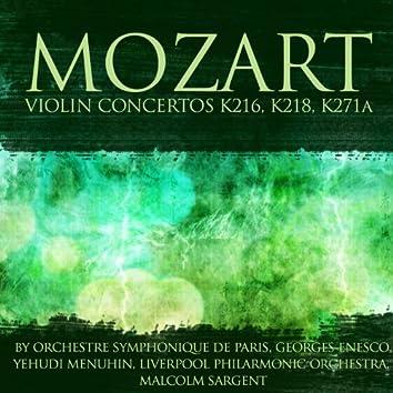 Mozart: Violin Concertos K216, K218 & K271a