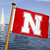 College Flags & Banners Co. Nebraska Huskers Boat and Nautical Flag
