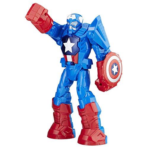 Playskool Heroes Marvel Super Hero Adventures Mech Armor Captain America