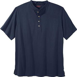 29c9ac90 Boulder Creek Men's Big & Tall Heavyweight Short-Sleeve Henley Shirt