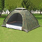 Tent, 3,4 Man Tent, Easy To Set Up Outdoor Camping Trail, Waterproof Dirt-Proof Camouflage Folding Tent