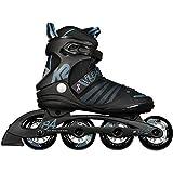 K2 Damen Alexis 84 Speed Alu Skateboardschuhe, Schwarz (Black/Steel Blue 001), 38 EU