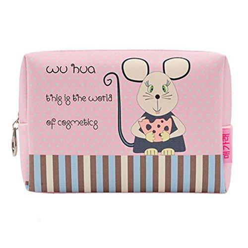 Maquillage Portable Sacs Wash Voyage sac cosmétique sac de stockage, souris