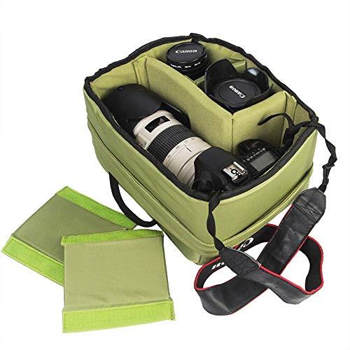 LSNLNN Taschen, Green Beam Typ Stoff Kamera Aufbewahrungstasche Wasserdichte Multifunktionale Professionelle Fotografie Liner Tasche Größe 26 X 20 X 16 cm Bunt