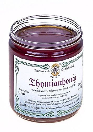 Griechischer Thymianhonig 500g – sehr aromatisch, naturbelassen, Honig (von Imkerei Nordheide)