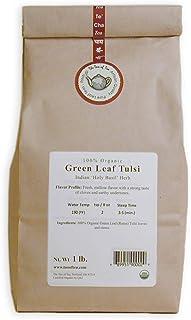 The Tao of Tea Green Leaf Tulsi, 100% Organic Tulsi, 1-Pounds (FBA-|257592)