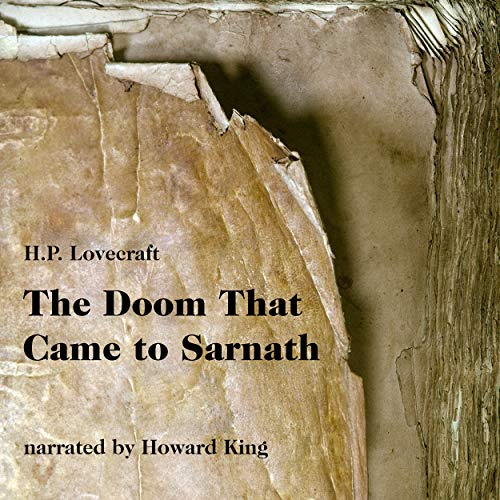 The Doom That Came to Sarnath - Track 9