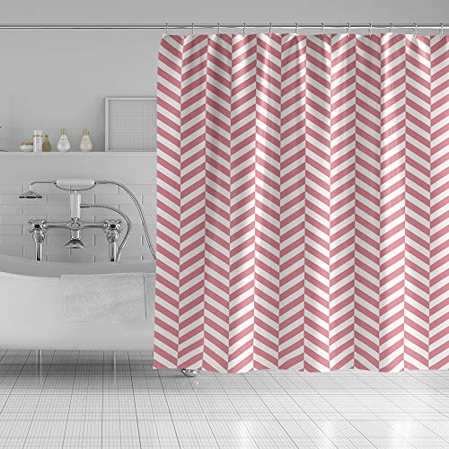 Qinunipoto Stylish Pink Chevron