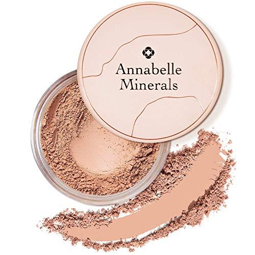 Annabelle Minerals - Natürlicher Mineral-Puder-Rouge - Mattes Make-up-Finish - Hochpigmentiert - Lang Anhaltendes Makeup - Natürliches frisches Aussehen - Für alle Hauttypen - Vegan - Satin Honey - 4g