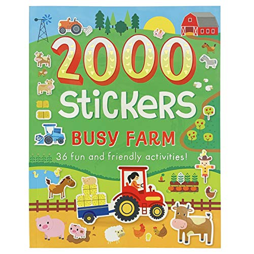 2000 Stickers Busy Farm Activity Book: Includes 36 Fun and Friendly Activities!