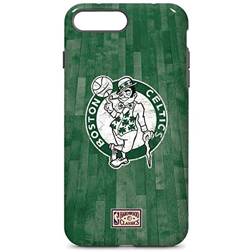Skinit Pro Phone Case Compatible with iPhone 7 Plus - Officially Licensed NBA Boston Celtics Hardwood Classics Design