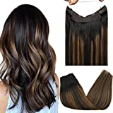 hair extension with mixed