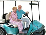 Wallmonkeys FOT-742458-18 WM118309 Golf Cart Seniors Isolated Peel and Stick Wall Decals (18 in W x 12 in H), Small