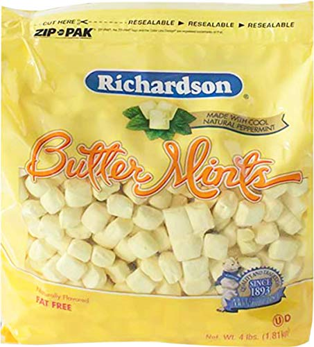 Roses Brands: Butter Mints Peppermint Candy 4 lbs