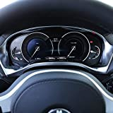 DIYUCAR Per X3 G01 Auto ABS Opaco Centro Cruscotto Tachimetro Decorazione Telaio Trim X4 G...