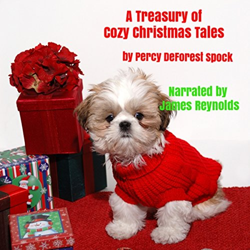 A Treasury of Cozy Christmas Tales audiobook cover art