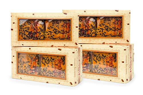 Sobaos Pasiegos de Cantabria con pepitas de chocolate - 4 paquetes de 4 sobaos grandes. Los Pasiegos de Diego, PREMIO AL MEJOR SOBAO Pasiego de Cantabria